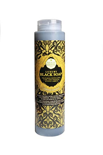 Nesti Dante Shower Gel Luxury Black Soap mit Aktivkohle, 300 ml