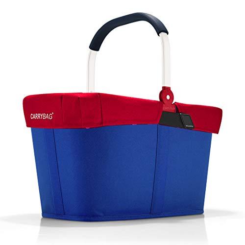reisenthel Angebot Einkaufskorb carrybag Plus passendes Cover Sichtschutz Abdeckung (Nautic)