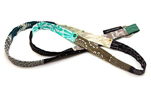 Lieblingsmanufaktur Schlüsselband Schlüsselanhänger in vielen Varianten- das Geschenk für den Hundebesitzer/Hundeliebhaber/Hundefreund Grau