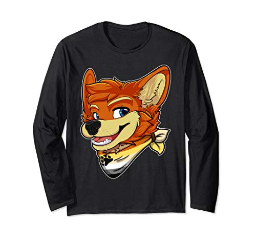 Bear Fursona Furry Fox Gay Rights Pride Week Long Sleeve T-Shirt