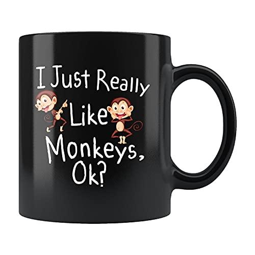Affe Geschenk, lustige Affe Tasse, Affe Kaffeebecher, Affe Liebhaber, Affe Liebhaber, Affe Thema, Affe Party, Dschungelparty #b212