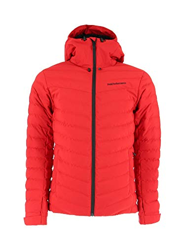 Peak Performance M Frost Ski Jacket Rot, Herren Daunen Isolationsjacke, Größe S - Farbe The Alpine