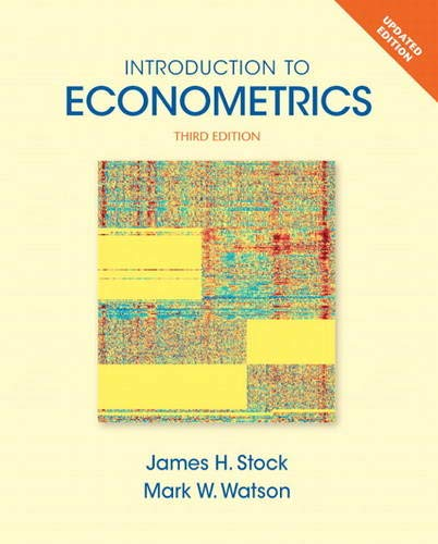 Compare Textbook Prices for Introduction to Econometrics, Update Pearson Series in Economics Hardcover 3rd Edition ISBN 9780133486872 by Stock, James,Watson, Mark