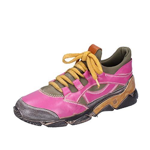 MOMA Sneakers Damen Leder pink 37 EU