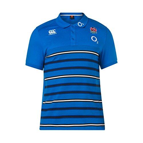 Canterbury - Polo da Rugby da Uomo, in Cotone 18/19, Uomo, Polo Rugby, E534270B54, Blu Direttore, XS