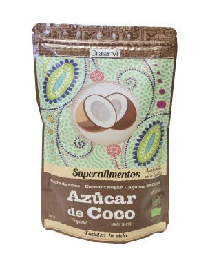 Superalimentos, azúcar de coco, edulcorante natural con bajo índice Glucémico...