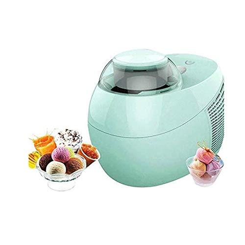 BMMMZ De pequeña automática Yogurt máquina refrigerada niños Helado casero de la máquina de Helado de máquina (Color : Green)