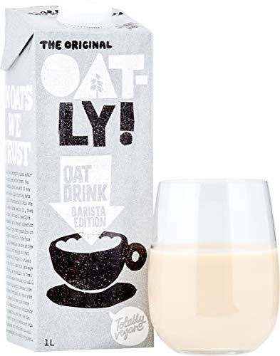 Oatly – Oat Drink – Barista Edition – 6 verpakkingen – 1 liter per verpakking – Vloeibare haver – Volledig schuimbaar…
