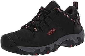 KEEN mens Steens Wp Hiking Shoe, Black, 10.5 US