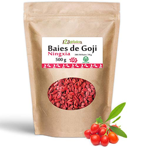Baies de Goji 500 g - Greenfood