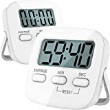 Kitchen Timer, 2 Pack Digital Kitchen Timers [ 2020 Version ] Magnetic Countdown