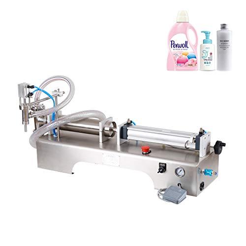 Máquina de llenado de líquidos Llenadora de Botellas, Máquina de Llenado de Líquidos Digital Embotelladora para beber agua, jugos, leches, alcohol, 10-100ml/ 10-300ML/ 50-500ML