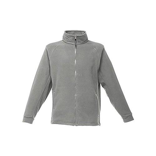 Regatta Polaire Homme zippée avec Propriété de séchage Rapide Thor III Fleece Homme Seal Grey FR: L (Taille Fabricant: L)