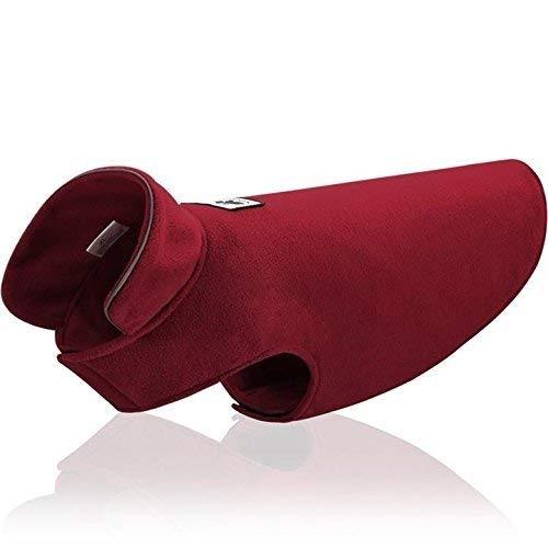 Aztex Fleece-Jacke für Hunde, warm, kuschelig, mit Verschluss, 5 Stück