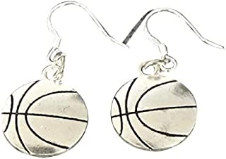 Sponsored Ad - Infinity Collection Basketball Earrings- Basketball Jewelry for Women, Perfect Basketball Gifts for Basketb...