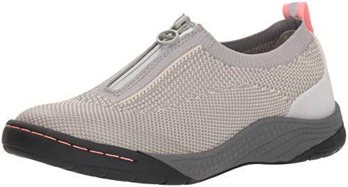 JSport by Jambu Women's Halden Sneaker, Light Grey, 9.5 Medium US
