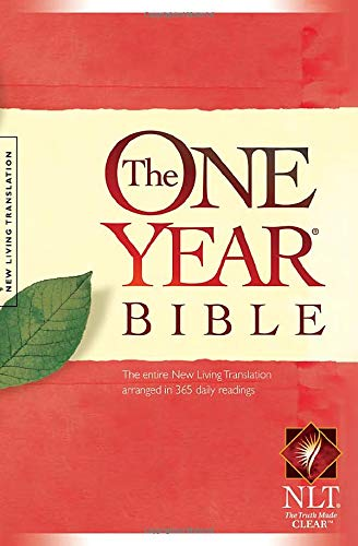 The One Year Bible NLT (Softcover)