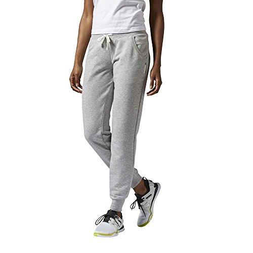 Reebok EL FT C PNT - Pantalón para Mujer, Color Gris, Talla S