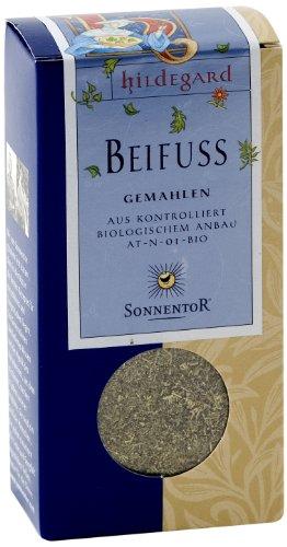 Sonnentor Beifuß gemahlen Hildegard, 2er Pack (2 x 25 g) - Bio