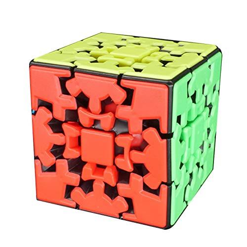 3x3 Gear Puzzle Twist Cube Juego Profesional Juguetes Strange Shape Puzzle Cube
