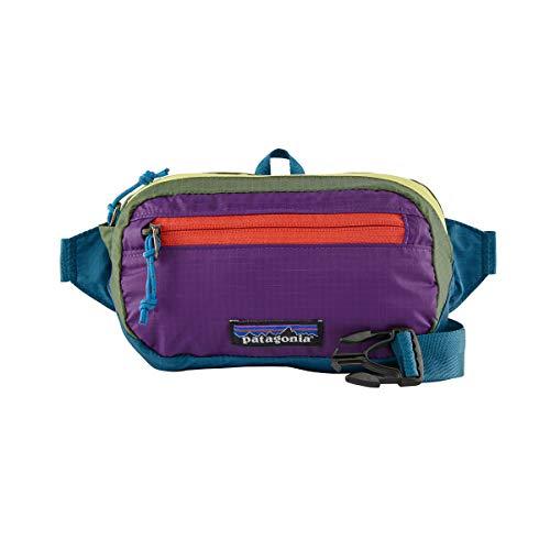 Patagonia Ultralight Black Hole Mini Hip Pack Gürteltasche, Unisex Erwachsene, Patchwork/Steller Blue, One Size