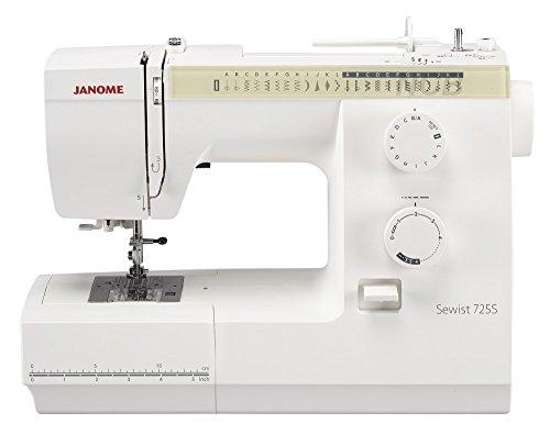 Janome sewist 725s–Funcional y Ligera en la Distancia–Máquina de Coser mecánica