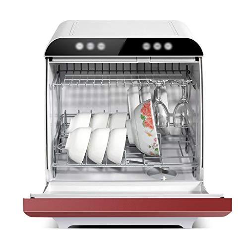 Armarios esterilizantes Lavavajillas Completamente Automático Lavavajillas De Escritorio Pequeño Para El Hogar Máquina Lavaplatos Independiente 4 Programas De Limpieza Inteligentes Simple Y Fácil De O