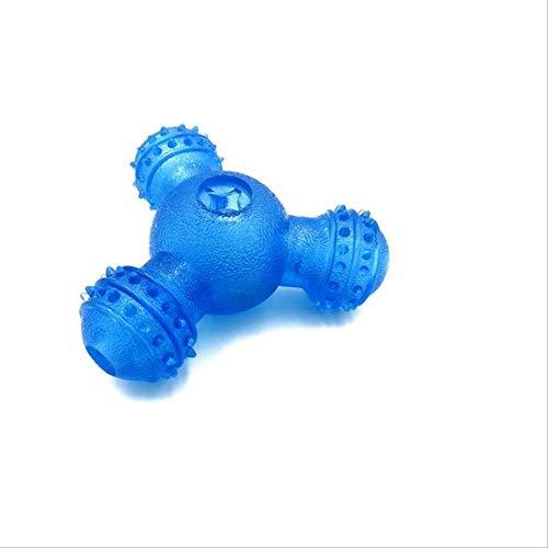 XYBB Hundespielzeug Hund Behandeln Ball Interaktive Spielzeug Pet Food Treat Feeder Für Haustier Hunde Welpen Katze M Blau