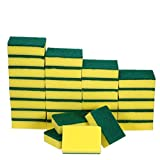 Heavy Duty Scrub Sponge,Cleaning Scrub Sponge,Stink Free Sponge,Effortless Cleaning Eco Scrub Pads