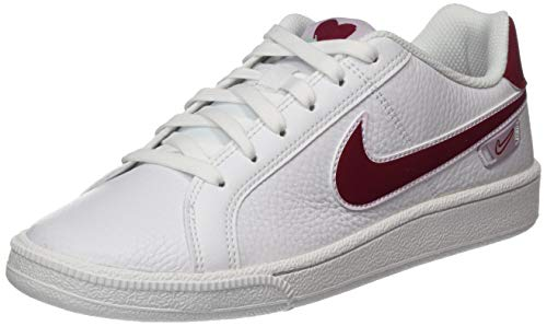 Nike Court Royale Vday, Gymnastics Shoe Mujer, White/Noble Red/Pistachio Frost/Iced Lilac, 37.5 EU