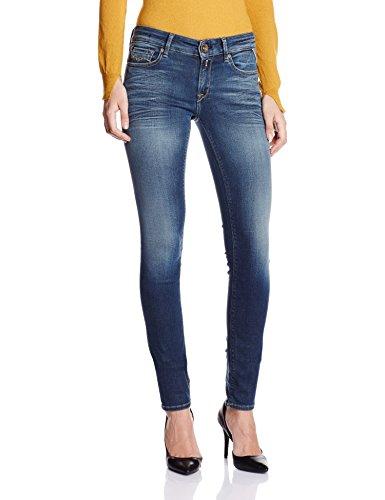 Replay Damen Luz Jeans, Blau (Blue Denim 007), W28/L30 (Herstellergröße: 28)