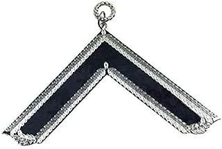 Bricks Masons Masonic Craft Lodge Officer Collar Jewel Silver