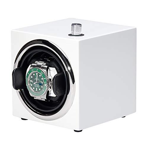 Mini Winders - Mini Winder Mechanical Winder Winder Automatic Watch Shaker Turn Reloj Dispositivo de Reloj Color Piano Pintura Reloj de Almacenamiento Adecuado para Relojes mecánicos.