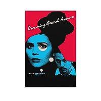 映画ポスター夢見るグランドアベニューキャンバスアートポスターとウォールアート写真プリントモダンファミリーベッドルームオフィス装飾ポスター12×18インチ(30×45cm)