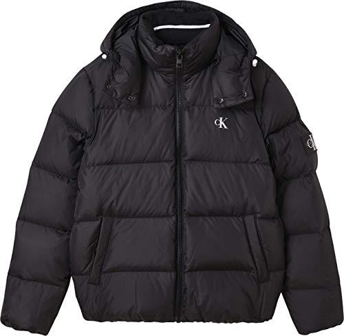 Calvin Klein Jeans Essentials Down Jacket Coat, CK Negro, XL para Hombre