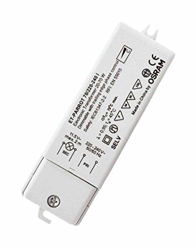 Osram Trafo elektronisch 20-70 Watt ET PARROT für Halogenlampen 12 Volt