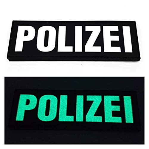 Polizei Fluor PVC Patch