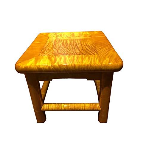 bureaustoel kleine vierkante krukken massief hout kruk woonkamer slaapkamer verandering schoen bank 4 been structuur retro kleur stoel
