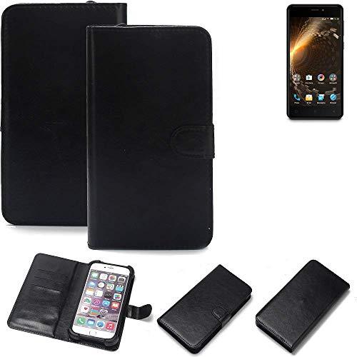 K-S-Trade® Handy Schutz Hülle Für Allview P9 Energy Mini Schutzhülle Bumper Schwarz 1x