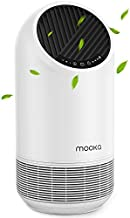 Mooka True HEPA Air Purifier for Large Room Up to 323ft², Ozone Free Air Cleaner for Allergies, Pets, Smokers, Mold, Odor Eliminator for Bedroom Office, Filter Reminder & Timer