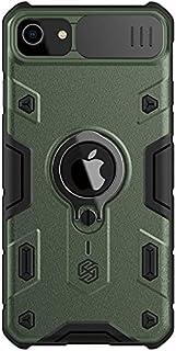 جراب حماية لهاتف ايفون اس اي (2020) من نيلكين - آيفون 8 / أخضر