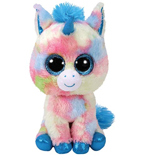 TY- Beanie Boo's Blitz, unicornio, Color azul, 15 cm (United Labels Ibérica 36877TY) , color/modelo surtido