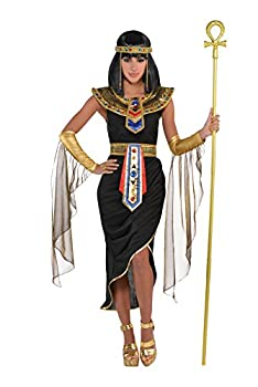 Amscan 847816 Adult Egyptian Queen Cleopatra Costume - Large  10-12