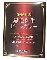 愛媛県産黒毛和牛ビーフカレー