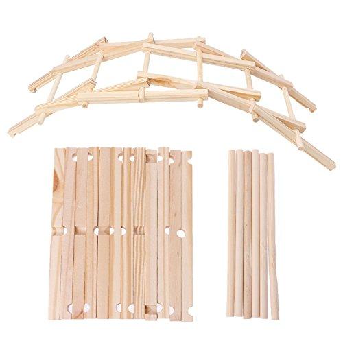 Kofun DIY da Vinci puente hecho a mano tecnología pequeña