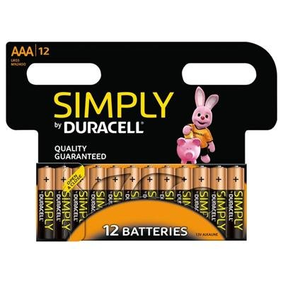 Duracell NEU Simply AAA 12Pack