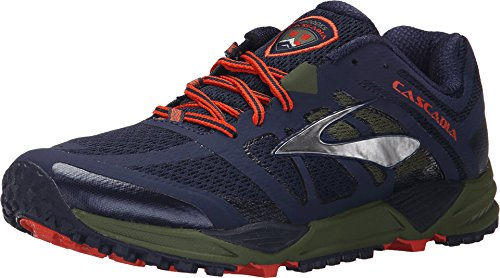 Brooks Cascadia 11 - Zapatillas de Entrenamiento Hombre, Azul (blau), 40 EU