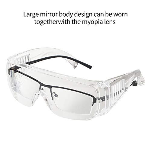 BIFOCAL Occhiali Protettivi 2,5 Diottrie Occhiali protettivi lavoro-ottici classe 1