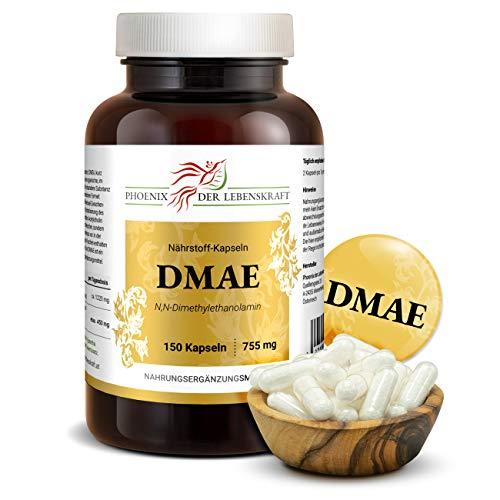 DMAE Kapseln 755 mg, 150 Kapseln, Premium Qualität, Hergestellt in Österreich, Vegan