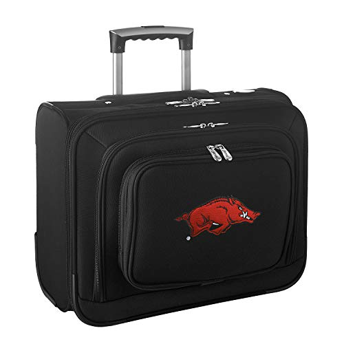 Discover Bargain NCAA Arkansas Razorbacks Wheeled Laptop Overnighter